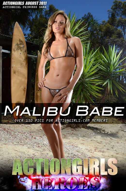 Princess Sara - `Malibu Babe` - for ACTIONGIRLS HEROES