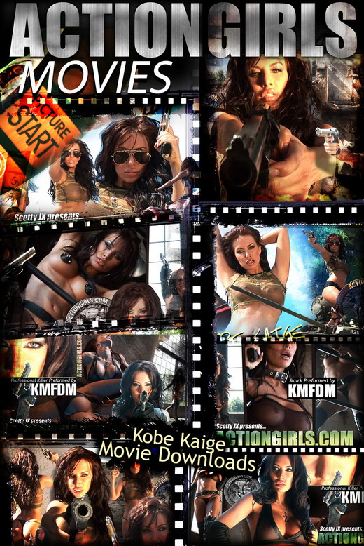 Kobe Kaige - `Movie Downloads` - for ACTIONGIRLS HEROES