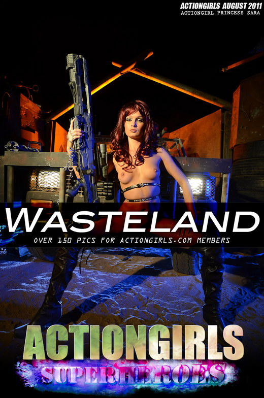 Princess Sara - `Wasteland` - for ACTIONGIRLS HEROES