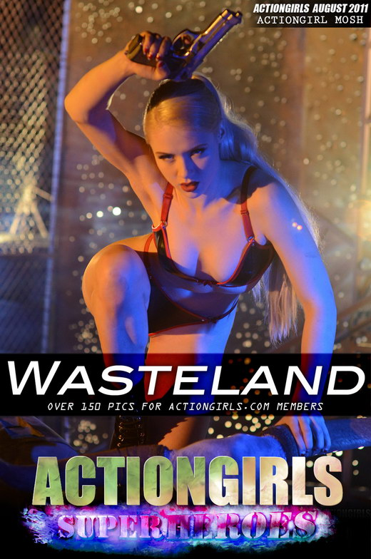 Mosh - `Wasteland` - for ACTIONGIRLS HEROES