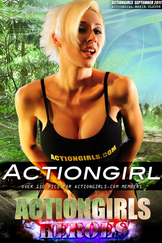 Marie Claude - `Actiongirl` - for ACTIONGIRLS HEROES