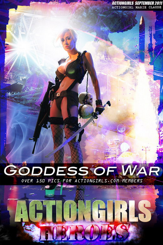 Marie Claude - `Goddess Of War` - for ACTIONGIRLS HEROES