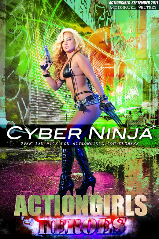 Whitney - `Cyber Ninja` - for ACTIONGIRLS HEROES
