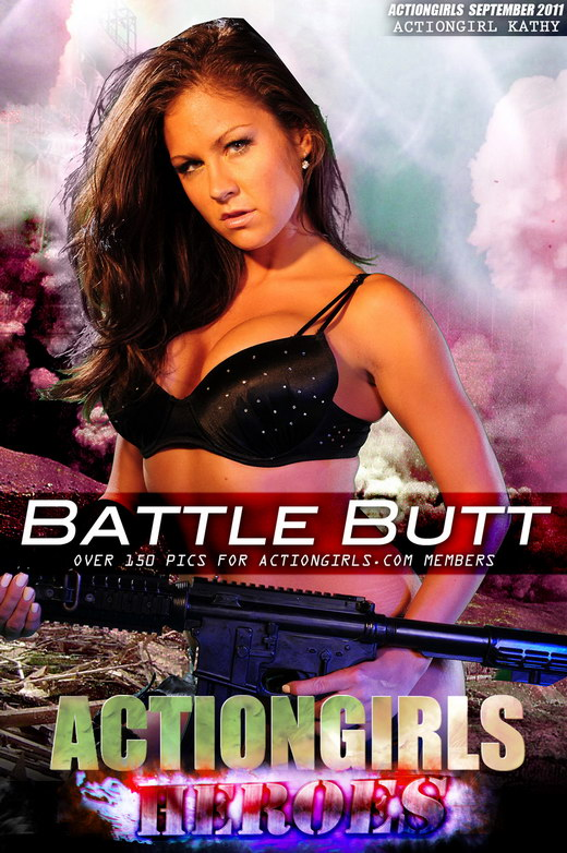 Kathy - `Battle Butt` - for ACTIONGIRLS HEROES