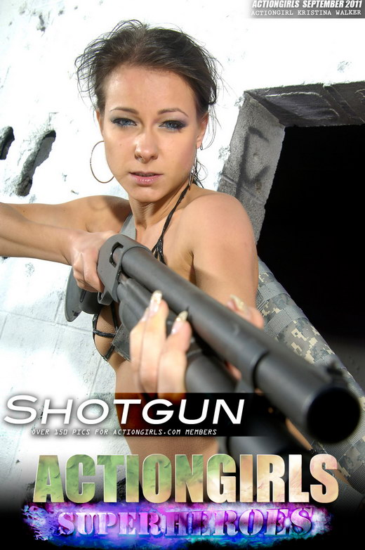 Kristina Walker - `Shotgun` - for ACTIONGIRLS HEROES