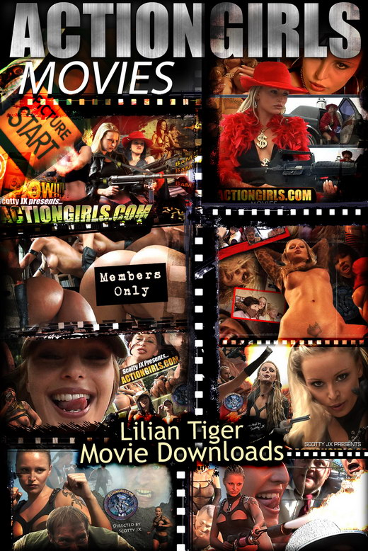 Lilian Tiger - `Movie Downloads` - for ACTIONGIRLS HEROES