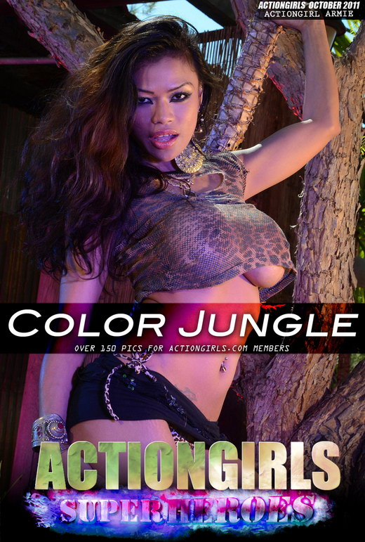 Armie - `Color Jungle` - for ACTIONGIRLS HEROES