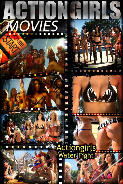 `Actiongirls Water Fight` - for ACTIONGIRLS HEROES