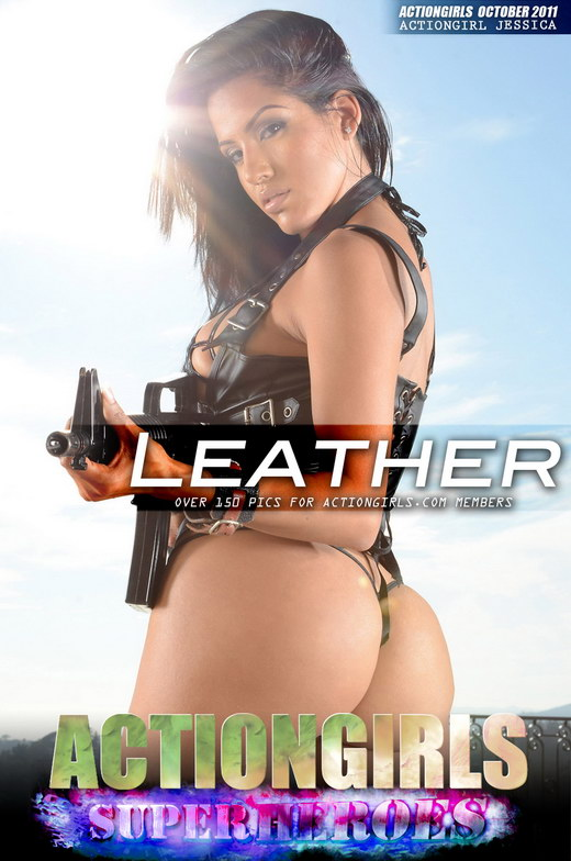 Jessica - `Leather` - for ACTIONGIRLS HEROES