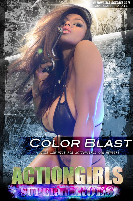 Armie - `Color Blast` - for ACTIONGIRLS HEROES