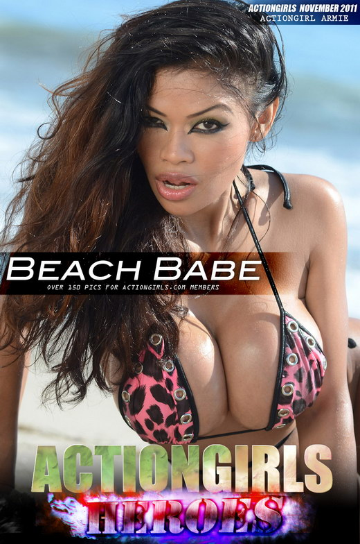 Armie - `Beach Babe` - for ACTIONGIRLS HEROES