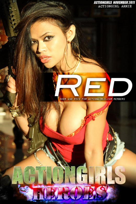 Armie - `Red` - for ACTIONGIRLS HEROES