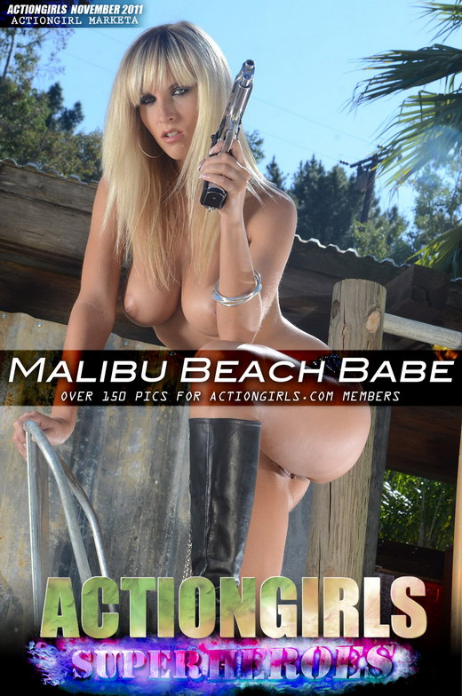 Marketa - `Malibu Beach Babe` - for ACTIONGIRLS HEROES