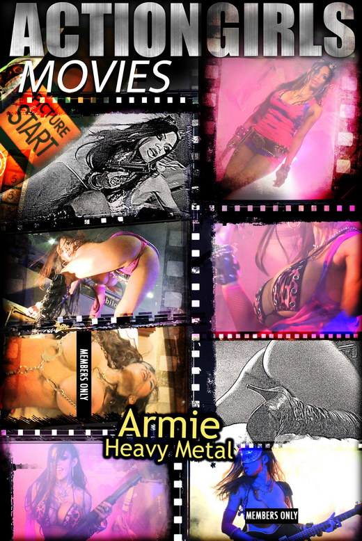 Armie - `Heavy Metal` - for ACTIONGIRLS HEROES
