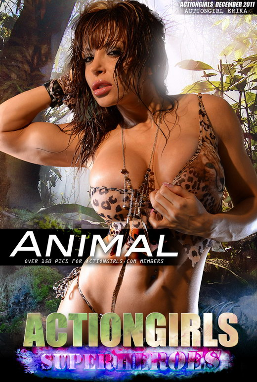 Erika - `Animal` - for ACTIONGIRLS HEROES