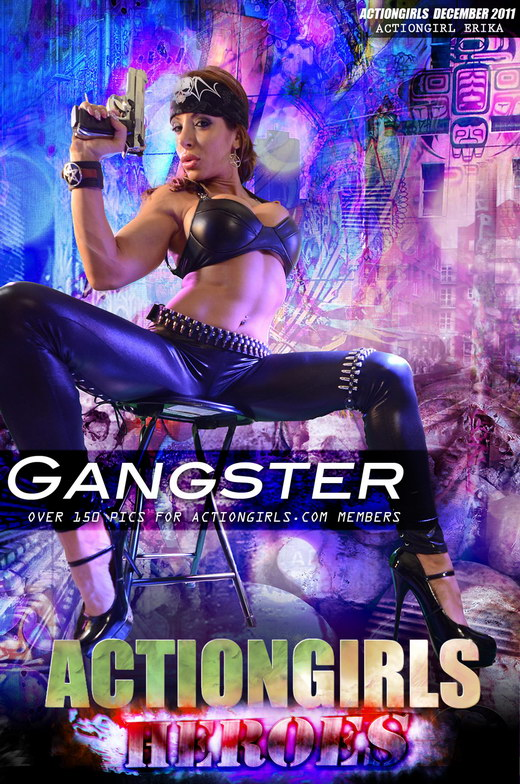 Erika - `Gangster` - for ACTIONGIRLS HEROES