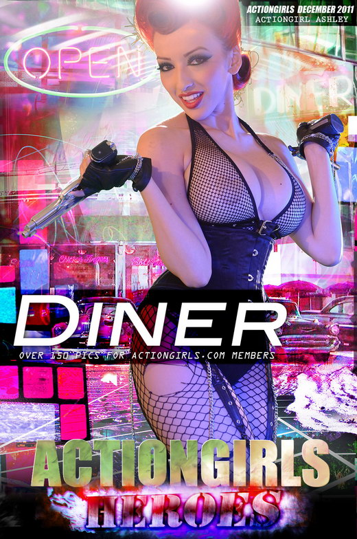 Ashley - `Diner` - for ACTIONGIRLS HEROES