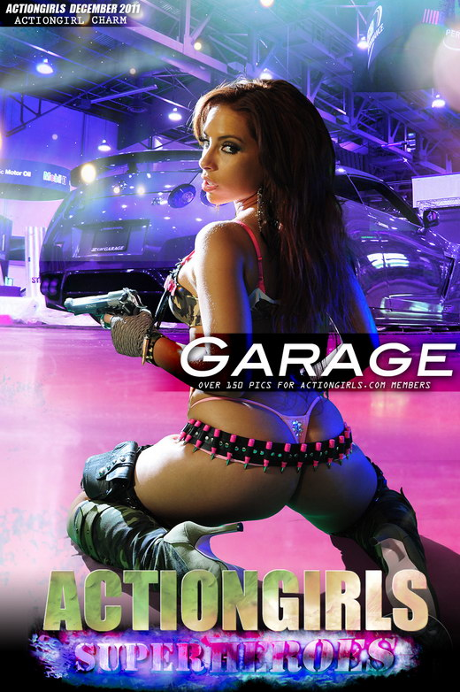 Charm - `Garage` - for ACTIONGIRLS HEROES