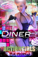 Ashley in Diner gallery from ACTIONGIRLS HEROES