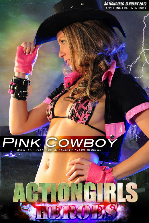 Lindsey - `Pink Cowboy` - for ACTIONGIRLS HEROES