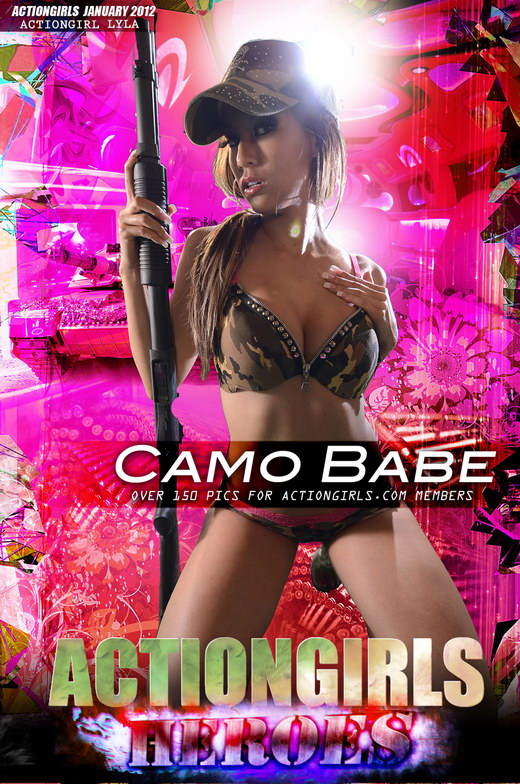 Lyla - `Camo Babe` - for ACTIONGIRLS HEROES