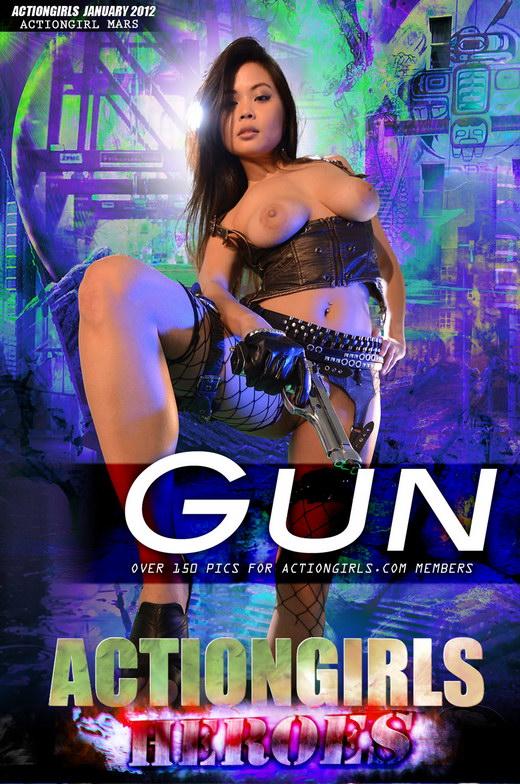 `Mars Gun` - for ACTIONGIRLS HEROES