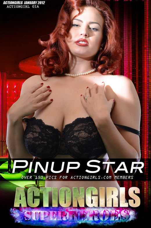 Gia - `Pinup Star Part 1` - for ACTIONGIRLS HEROES