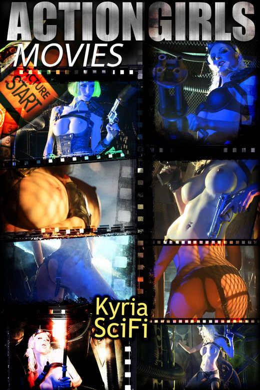 Kyria - `Scifi` - for ACTIONGIRLS HEROES