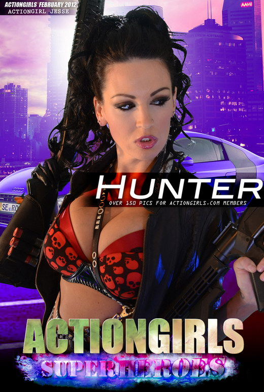 Jesse - `The Hunter` - for ACTIONGIRLS HEROES