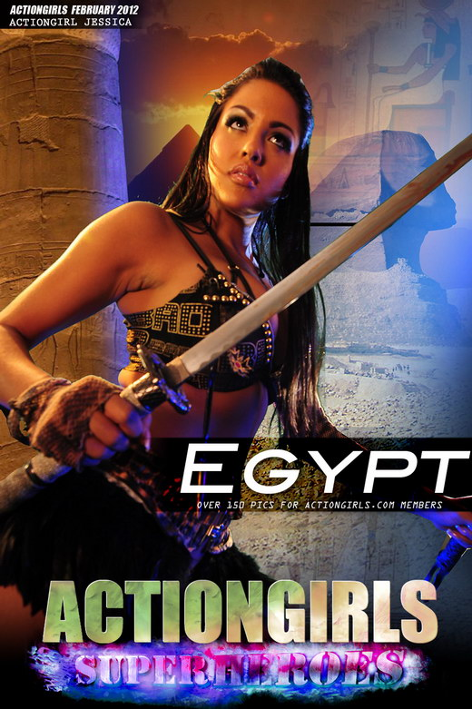 Jessica - `Egypt` - for ACTIONGIRLS HEROES