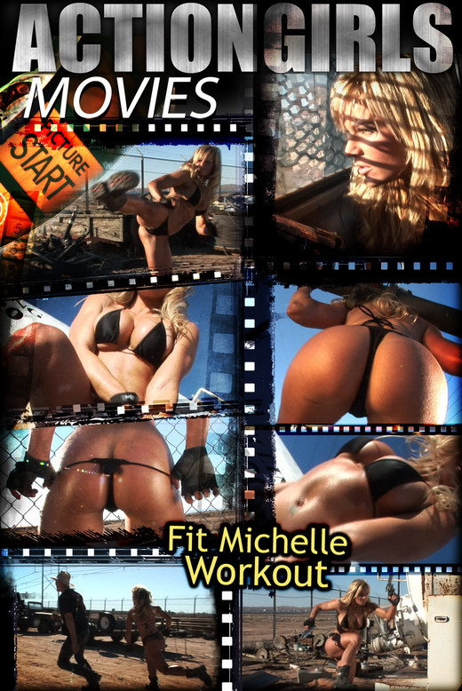 Michelle - `Workout` - for ACTIONGIRLS HEROES