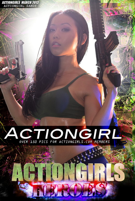 Sandy - `Actiongirl` - for ACTIONGIRLS HEROES