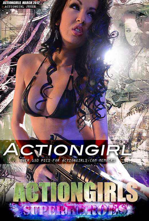 Jesse - `Actiongirl` - for ACTIONGIRLS HEROES