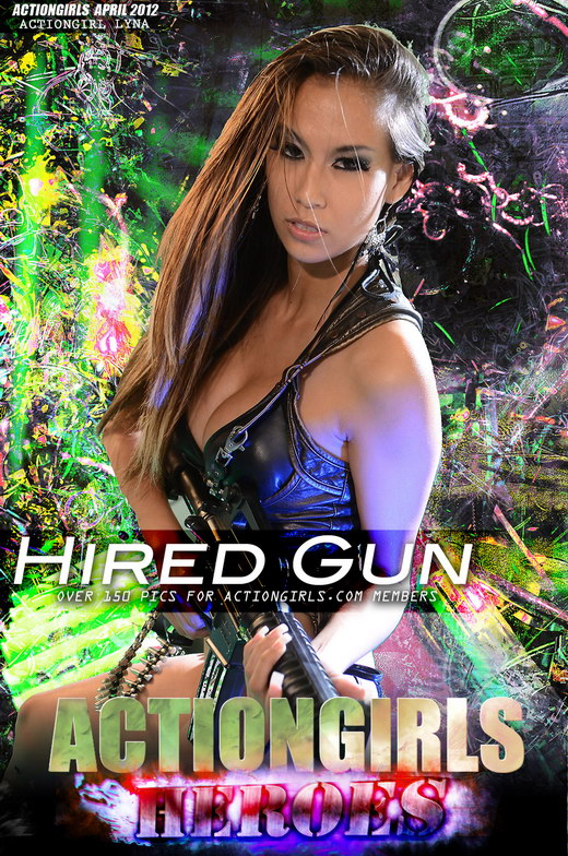 Lyna - `Hired Gun` - for ACTIONGIRLS HEROES
