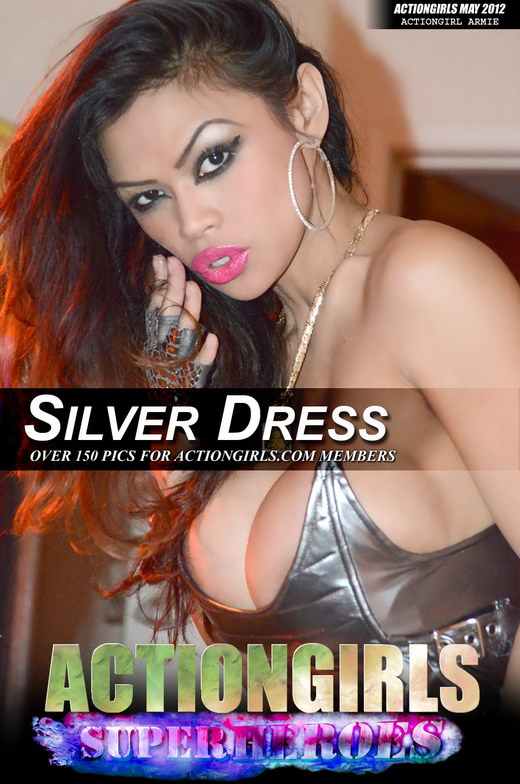 Armie - `Silver Dress` - for ACTIONGIRLS HEROES