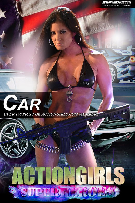 Carmen - `Car` - for ACTIONGIRLS HEROES