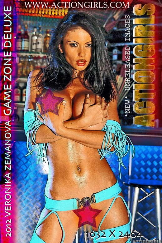 Veronika Zemanova - `Game Zone Deluxe` - for ACTIONGIRLS HEROES