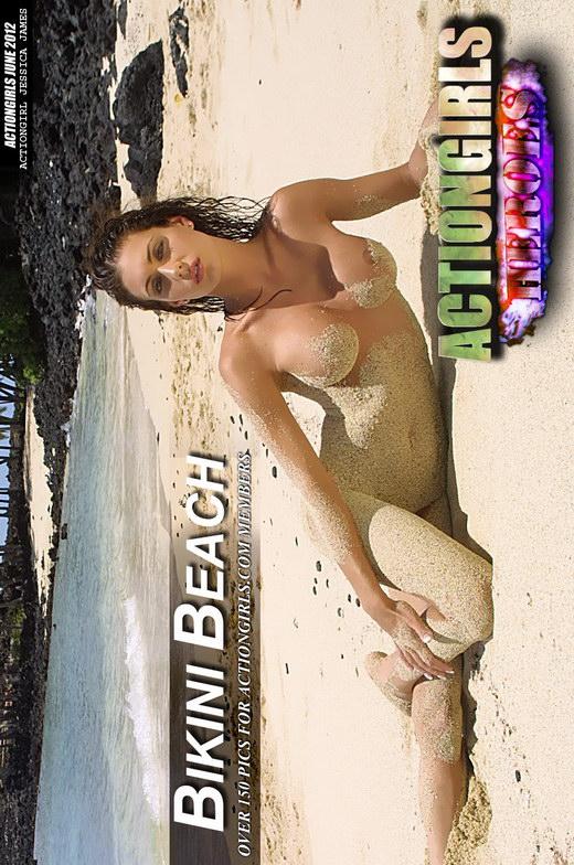 Jessica James - `Beach Bikini` - for ACTIONGIRLS HEROES