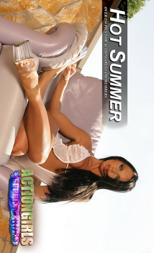 Cristina Bella - `Hot Summer` - by Scotty Jx for ACTIONGIRLS HEROES