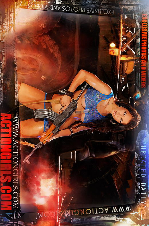 `Actiongirls Web Posters` - by Scotty Jx for ACTIONGIRLS HEROES