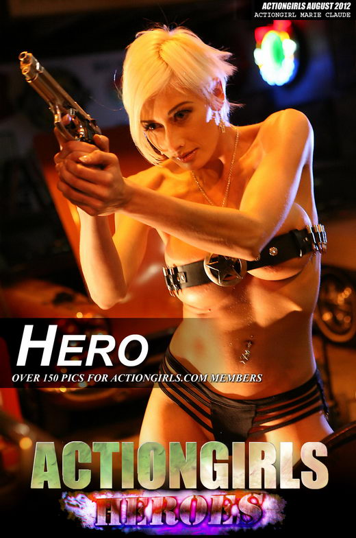 Marie Claude - `Hero` - by Scotty Jx for ACTIONGIRLS HEROES