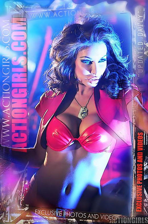 `Actiongirls Web Posters Deluxe Ser 2` - by Scotty Jx for ACTIONGIRLS HEROES