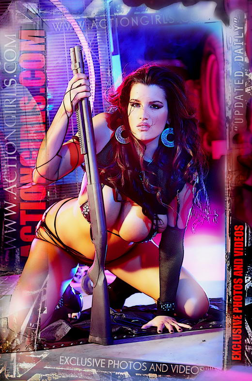 `Actiongirls Web Posters Deluxe Ser 3` - by Scotty Jx for ACTIONGIRLS HEROES