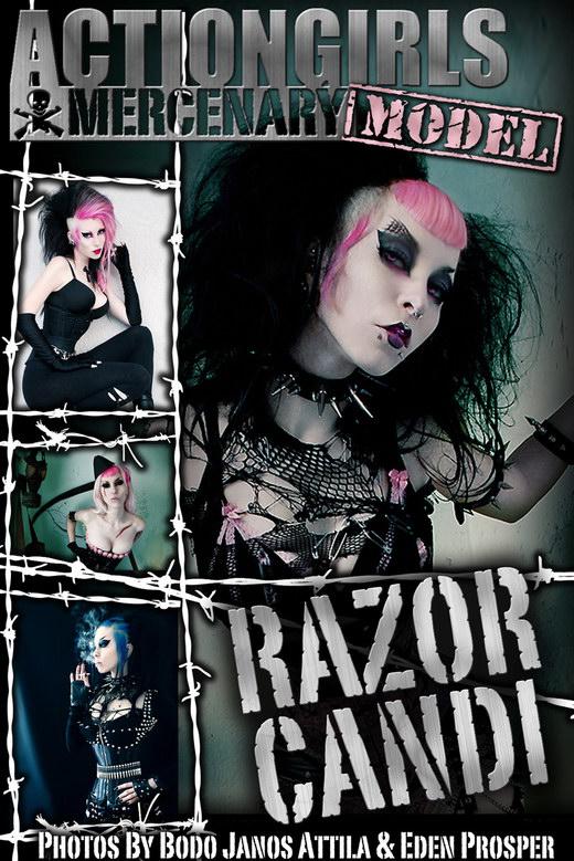 Razor Candi - by Bodo for ACTIONGIRLS MERCS