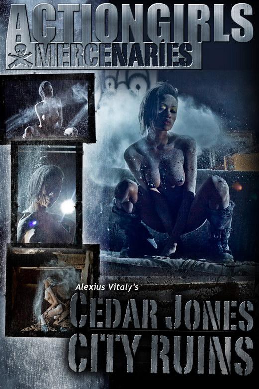 Cedar Jones - `City Ruins` - by Alexius Vitaly for ACTIONGIRLS MERCS