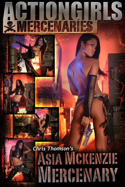 Asia Mckenzie - `Actiongirl Mercenary` - by Chris Thomson for ACTIONGIRLS MERCS