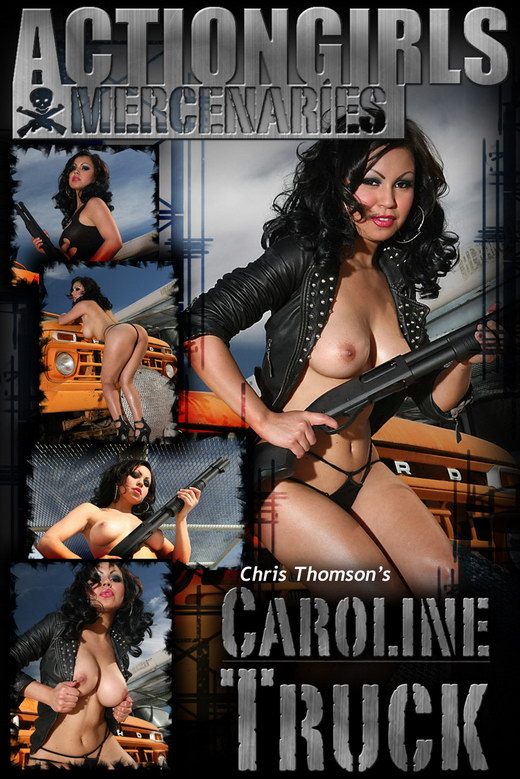 Caroline - `Truck` - by Chris Thomson for ACTIONGIRLS MERCS