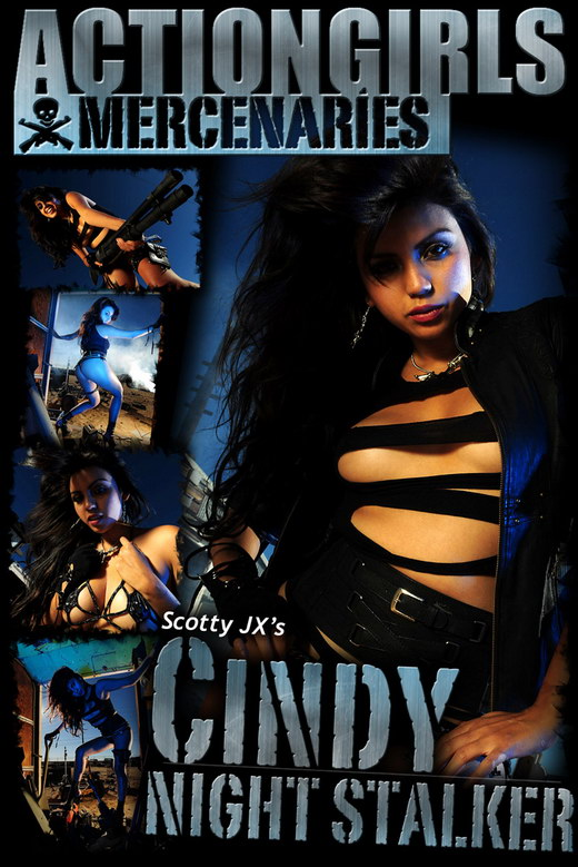 Cindy - `Night Stalker` - by Scotty Jx for ACTIONGIRLS MERCS