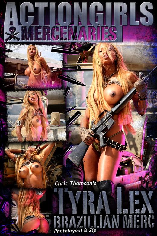 Tyra Lex - `Brazilian Merc` - by Chris Thomson for ACTIONGIRLS MERCS