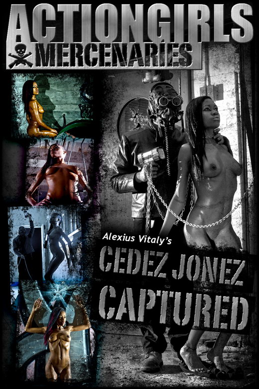 Cedez Jonez - `Captured` - by Alexius Vitaly for ACTIONGIRLS MERCS
